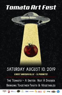 Tomato Art Fest 2019 Poster