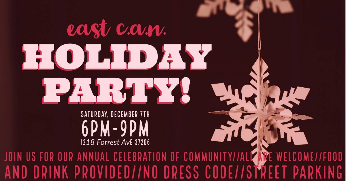 Celebrate the Season with East C.A.N.